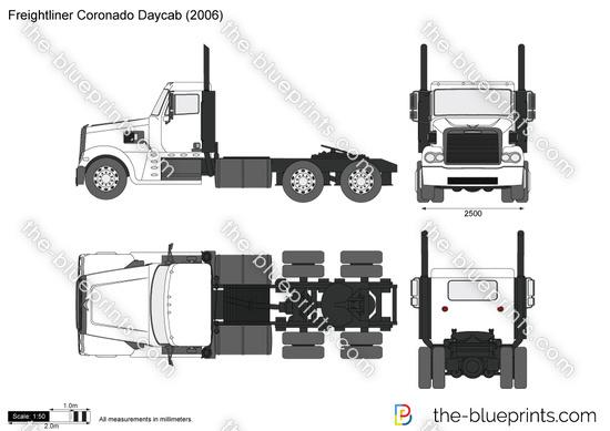Freightliner Coronado Daycab