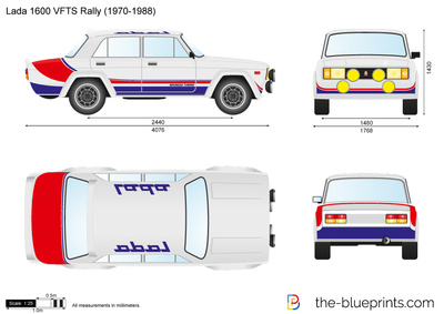 Lada 1600 VFTS Rally