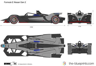 Formula E Nissan Gen 2