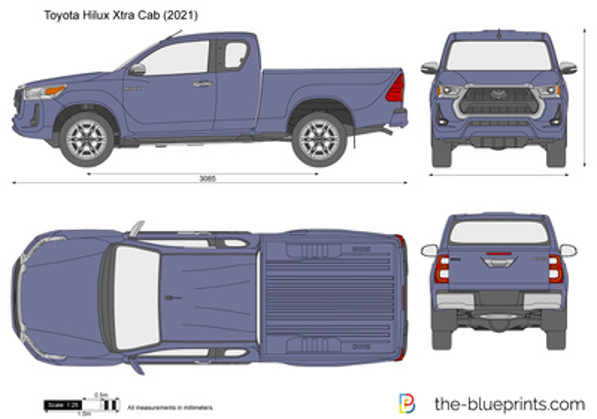 Toyota Hilux Xtra Cab