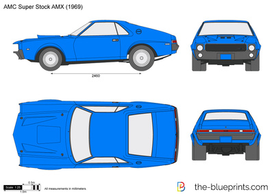 AMC Super Stock AMX