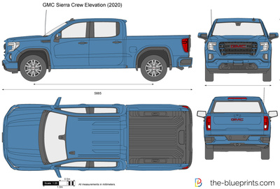 GMC Sierra Crew Elevation