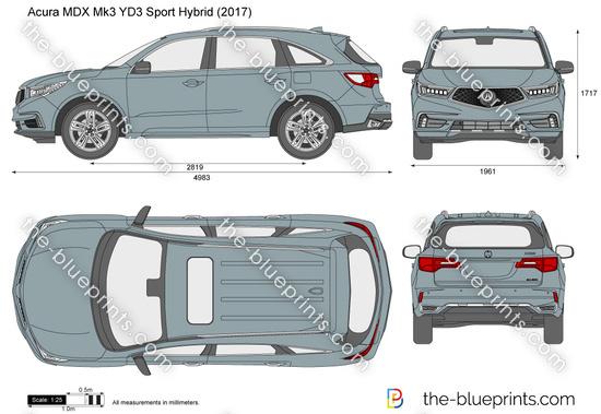 Acura MDX Sport Hybrid YD3