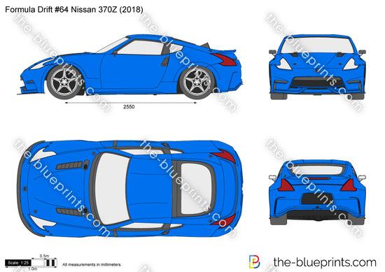 Nissan 370Z Formula Drift #64