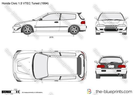 Honda Civic 1.5 VTEC Tuned