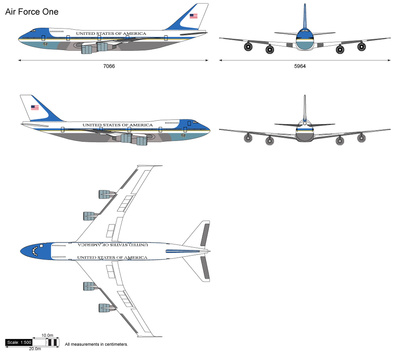 Air Force One Boeing 747-200