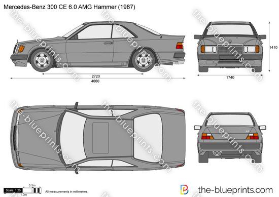 Mercedes-Benz 300CE 6.0 AMG Hammer