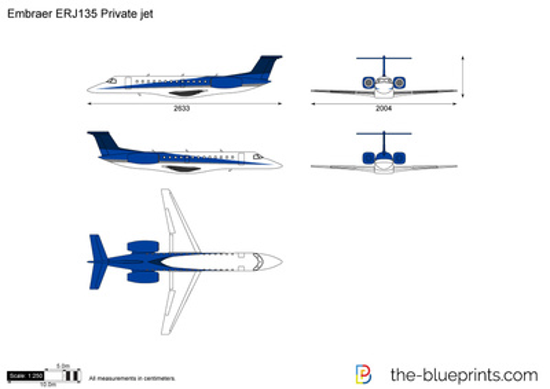 Embraer ERJ135 Private jet
