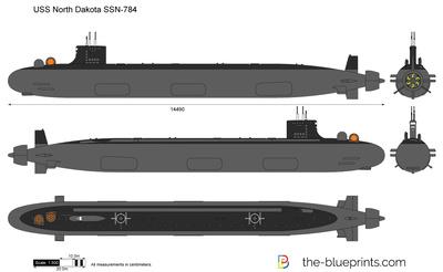 USS North Dakota SSN-784