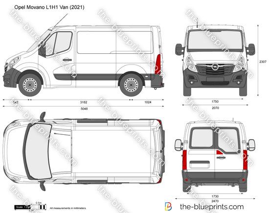 Opel Movano L1H1 Van