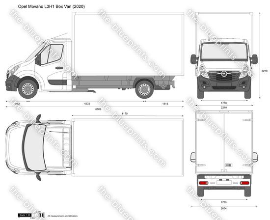 Opel Movano L3H1 Box Van