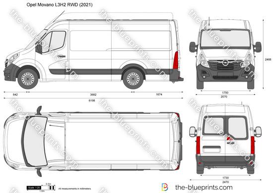 Opel Movano L3H2 RWD