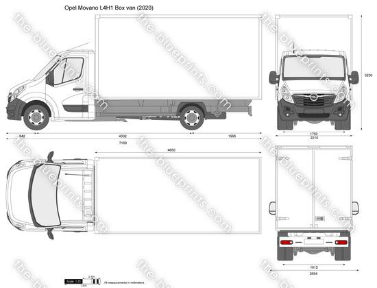 Opel Movano L4H1 Box van