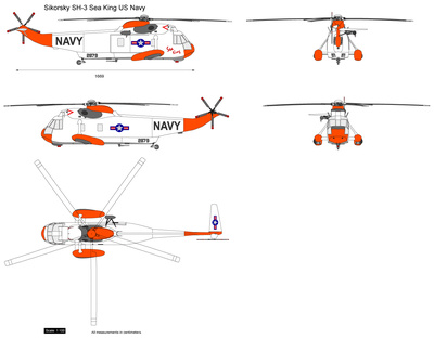 Sikorsky SH-3 Sea King US Navy