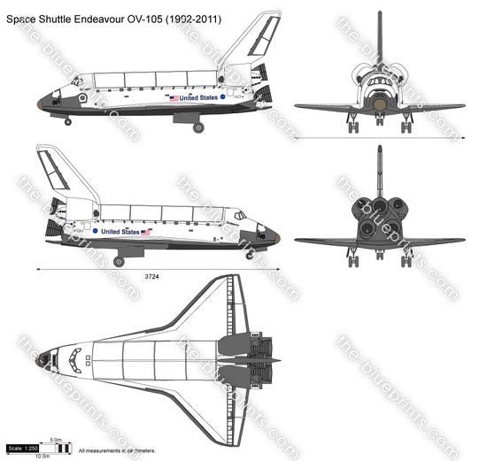 Space Shuttle Endeavour OV-105
