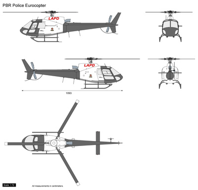 PBR Police Eurocopter