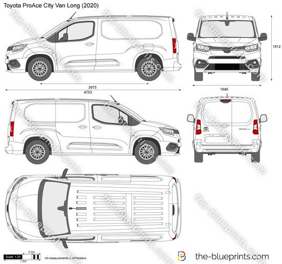Toyota ProAce City Van Long