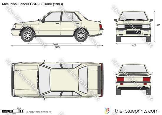 Mitsubishi Lancer GSR-IC Turbo