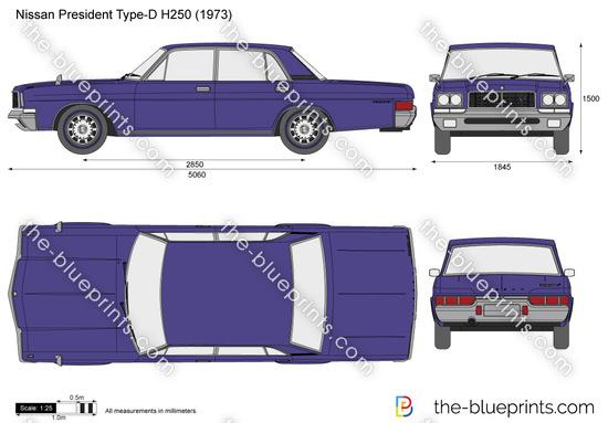 Nissan President Type-D H250