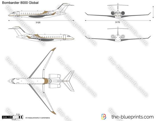 Bombardier 8000 Global