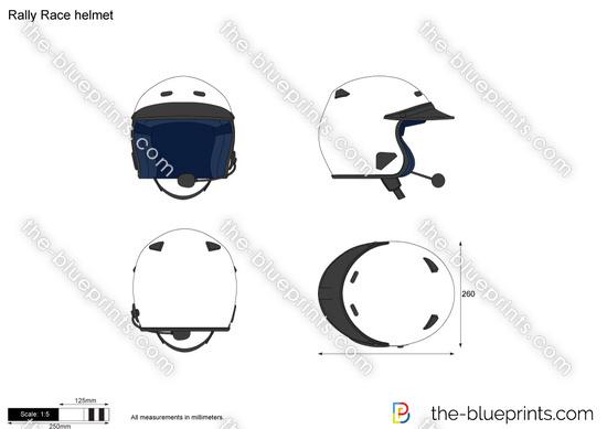 Rally Race helmet
