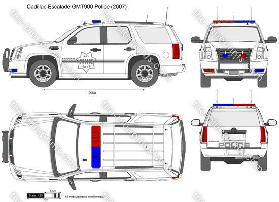 Cadillac Escalade GMT900 Police