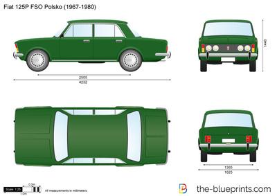 Fiat 125P FSO Polsko (1967)