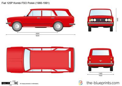 Fiat 125P Kombi FSO Polski (1980)