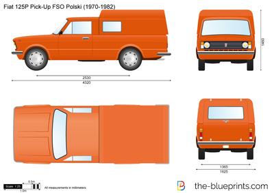 Fiat 125P Pick-Up FSO Polski (1970)