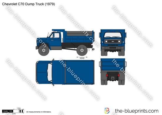 Chevrolet C70 Dump Truck