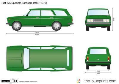 Fiat 125 Speciale Familiare (1967)