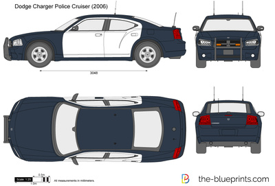 Dodge Charger Police Cruiser