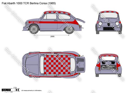 Fiat Abarth 1000 TCR Berlina Corsa