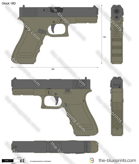 Glock 18D