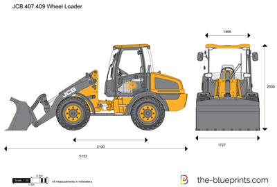 JCB 407 409 Wheel Loader
