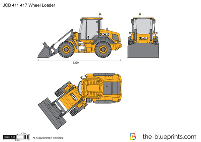 JCB 411 417 Wheel Loader
