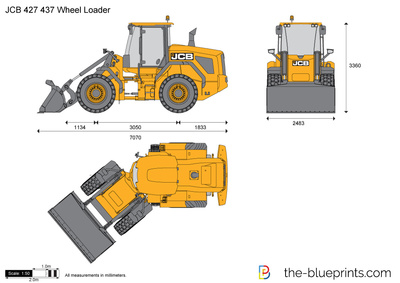 JCB 427 437 Wheel Loader
