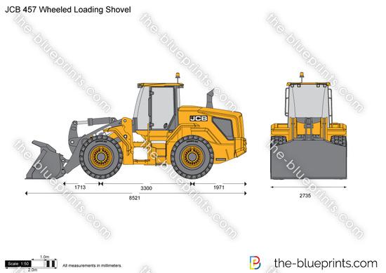 JCB 457 Wheeled Loading Shovel