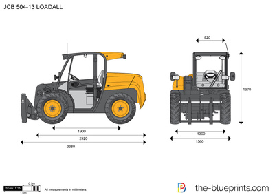JCB 504-13 LOADALL