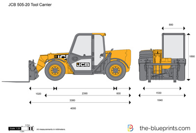 JCB 505-20 Tool Carrier