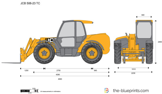 JCB 506-23 TC