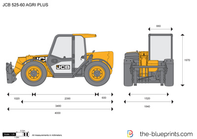 JCB 525-60 AGRI PLUS