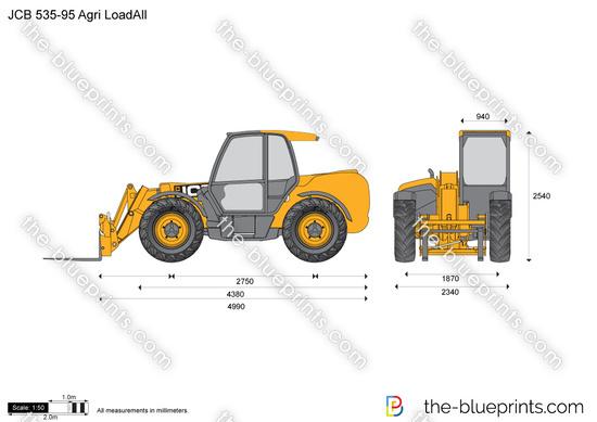 JCB 535-95 Agri LoadAll