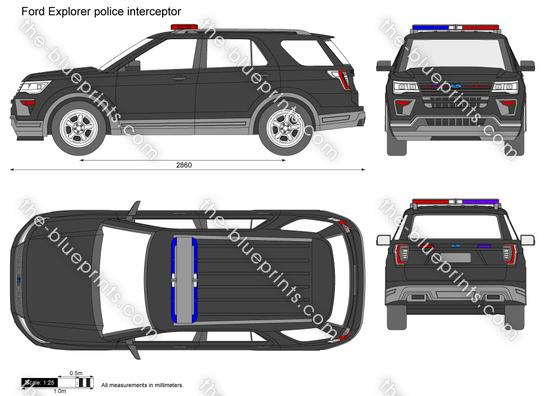 Ford Explorer police interceptor