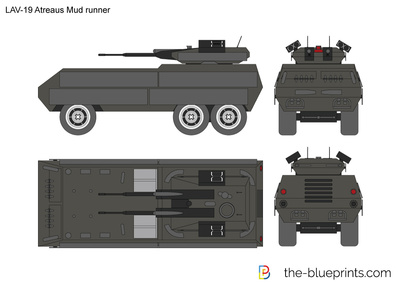LAV-19 Atreaus Mud runner