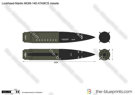 Lockheed-Martin MGM-140 ATAMCS missile