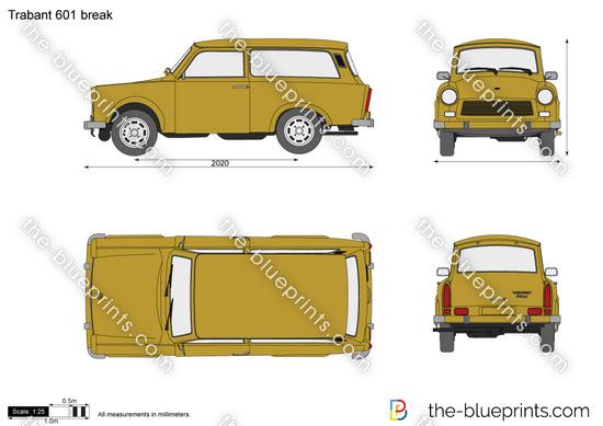 Trabant 601 break