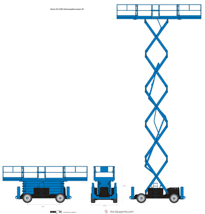Genie GS-3384 Self-propelled scissor lift