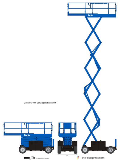 Genie GS-4069 Self-propelled scissor lift