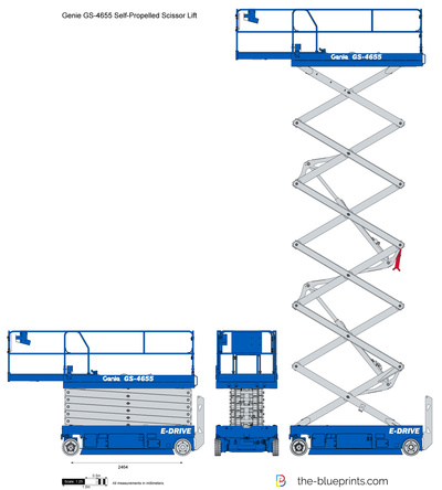 Genie GS-4655 Self-Propelled Scissor Lift